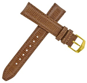 TAG Heuer Tag Heuer 20 - 18 mm Brown Lizard Leather Watch Strap w. Band (7669)