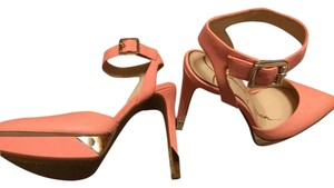 Jessica Simpson Peach Pumps
