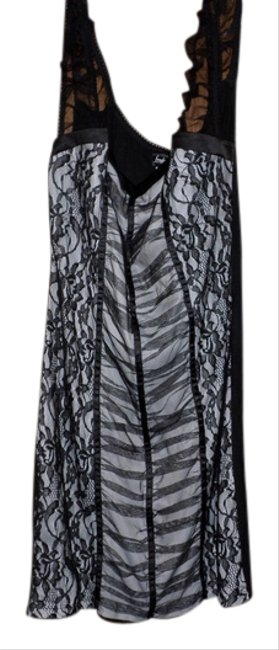 Preload https://item4.tradesy.com/images/frederick-s-of-hollywood-blackwhite-short-night-out-dress-size-16-xl-plus-0x-1312463-0-0.jpg?width=400&height=650