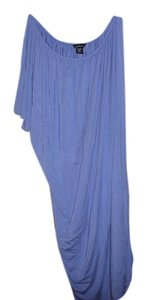 Moda International On Shoulder Drop Waist Dress