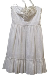 Maggy London short dress White on Tradesy