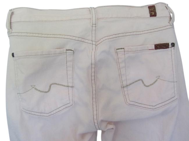 Item - Light Pink Wash Bootcut Capri/Cropped Jeans Size 28 (4, S)