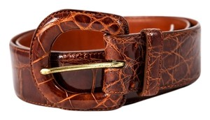 Ralph Lauren * RALPH LAUREN Genuine alligator belt 2221940 240