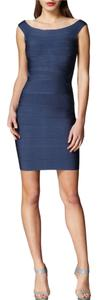 Hervé Leger Bodycon Off The Shoulder Night Out Date Night Party Dress