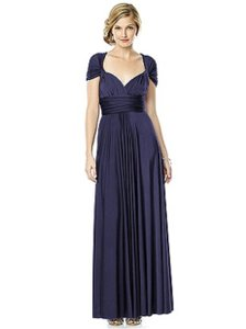 Dessy Clover Twist Wrap - Small Destination Bridesmaid/Mob Dress Size 4 (S)