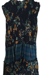Mossimo Supply Co. short dress Floral and Plaid Sundress Halter on Tradesy