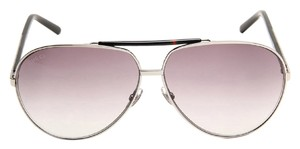 Gucci NEW Gucci Men's 1933/S Aviator Sunglasses Black Frame Grey Gradient Lens