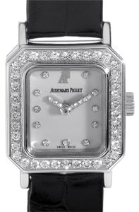 Audemars Piguet Audemars Piguet Ladies Watch 77184BC. ZZ.D001CR.01 White Gold Crocodile Diamond