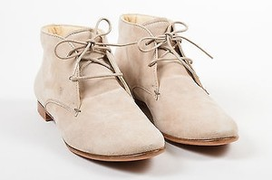 Tod's Tods Taupe Suede Leather Beige Boots