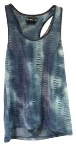 byCORPUS Top Blue Tie-Dye