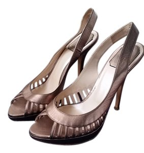 Dior Bronze metallic Pumps