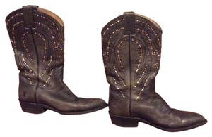 Frye Black look gray Boots