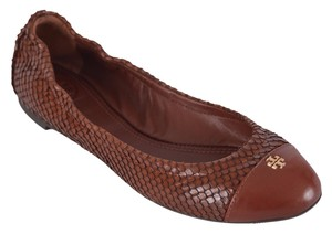 Tory Burch Ballerina Brown Flats