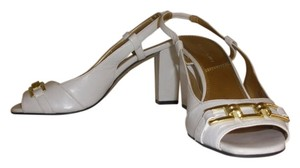 Tahari White Sandals