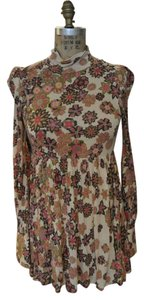 M Missoni Floral Soft Empire Waist Tunic