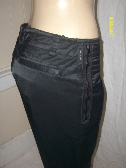 A|X Armani Exchange Straight Pants Black Image 3