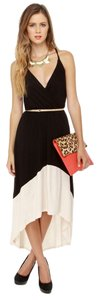 Black and white Maxi Dress by Lulu*s