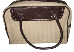 Lacoste Satchel in Tan