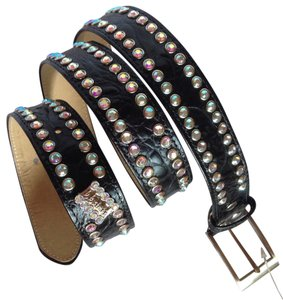 B.B. Simon BB Simon Belt Crystallized With Swarovski