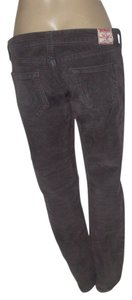 True Religion Corduroy Leg Straight Pants Gray