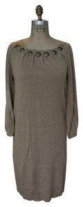 MICHAEL Michael Kors short dress Khaki Knit Studded on Tradesy