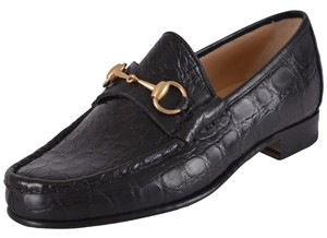 Gucci Men's Loafers Loafers Men's Loafers Black Flats