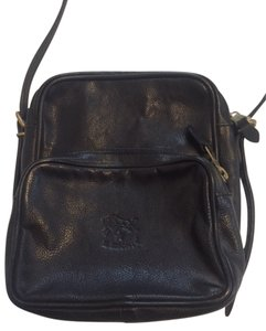 Il Bisonte Leather Vintage Mint Condtion Dust Cover Cross Body Bag