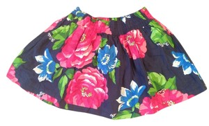 Hollister Mini Skirt Blue,pink,green