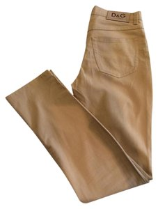 D&G Straight Pants Beige