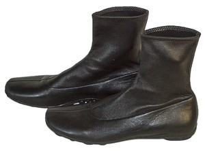 Prada Leather Size 8 black Boots