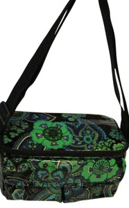 Vera Bradley Vera Bradley Cosmetic Bag With Shoulder Strap