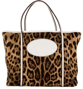 Dolce&Gabbana Tote in Leopard And White