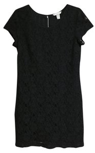 Banana Republic Lbd Lace Shift Dress