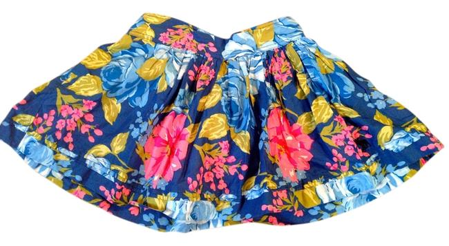 Abercrombie & Fitch Mini Skirt Blue,pink,green