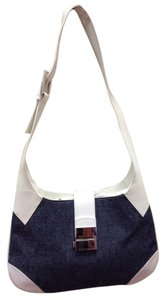 Dolce&Gabbana D&g Leather Denim Signature Hobo Bag
