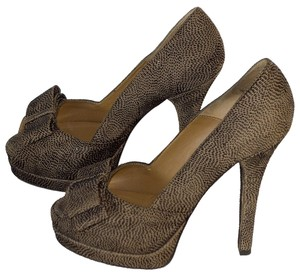 Fendi 5.5 Heels brown / black Pumps