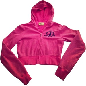 Juicy Couture Juicy Couture Cropped Zip-Up Hoodie