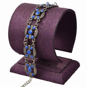 Other New Purple Chain Link Statement Bracelet