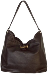 Eric Javits Leather Shoulder Bag