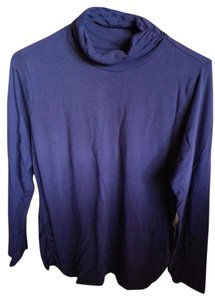 Coldwater Creek Ruched Turtleneck Sweater