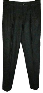 Club Monaco Boyfriend Kaylan Size 6 Wool Spandex Blend New Trouser Pants Black