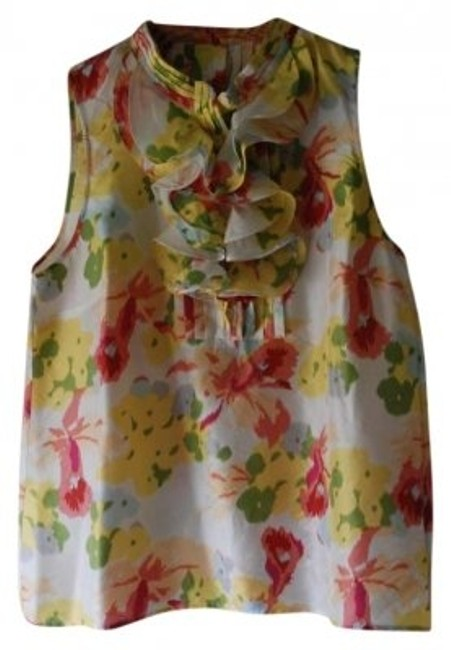 Preload https://item1.tradesy.com/images/jcrew-yellow-and-coral-floral-silk-sleeveless-ikat-tank-topcami-size-10-m-131325-0-0.jpg?width=400&height=650