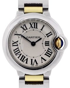 Cartier Cartier Ballon Bleu Two Tone Roman Dial Watch