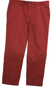 Nautica Relaxed Pants Red / Burgundy