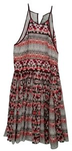 Parker short dress Multi Silk Wedding on Tradesy