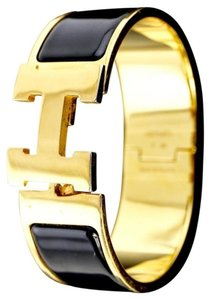 Herms Hermes Clic Clac H Bracelet (wide)