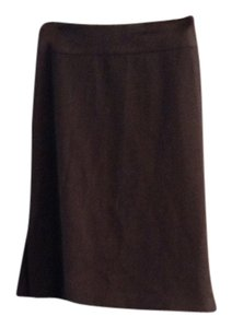 Banana Republic Pencil Stretch Skirt Gray