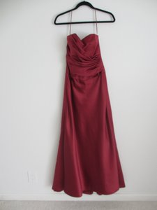 Amsale Red Dress