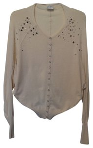 Free People Batwing Lightweight Studded Snap Cotton Cardigan