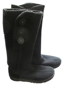 UGG Australia Cardy Two-in-one Boot Bootie Black Boots
